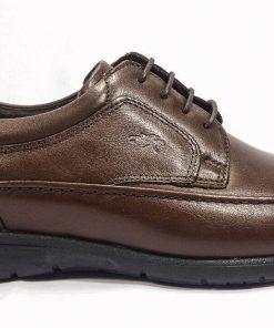 FLUCHOS 8498 Zapato de Hombre de color Marrón