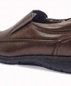 FLUCHOS 8499 Zapato de Hombre de color Marrón