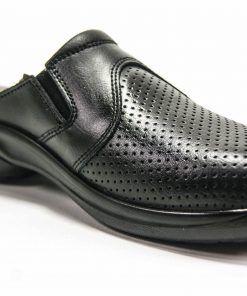 LUISETTI 0025 BERLIN Zapato Profesional de color negro abierto