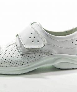 LUISETTI 0025 BERLIN Zapato profesional de color blanco cerrado