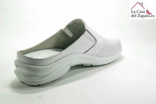 LUISETTI 0025 BERLIN Zapato Profesional de color blanco abierto