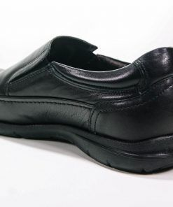 FLUCHOS 8499 Zapato de Hombre de color Negro