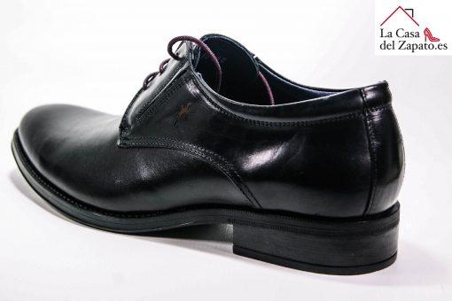 FLUCHOS 8410 Zapato de Hombre de color Negro