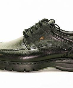 FLUCHOS 9142 Zapato de Hombre de Color Negro