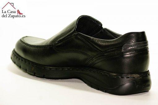 FLUCHOS 9144 Zapato de Hombre de Color Negro