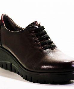 FLUCHOS F0698 Zapato de Mujer de Color Burdeos