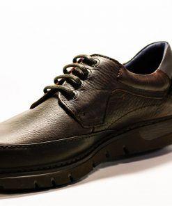 FLUCHOS F0247 Zapato de Hombre de Color Marrón