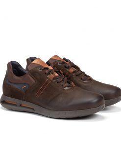 FLUCHOS F0657 Zapato de Hombre de Color Café
