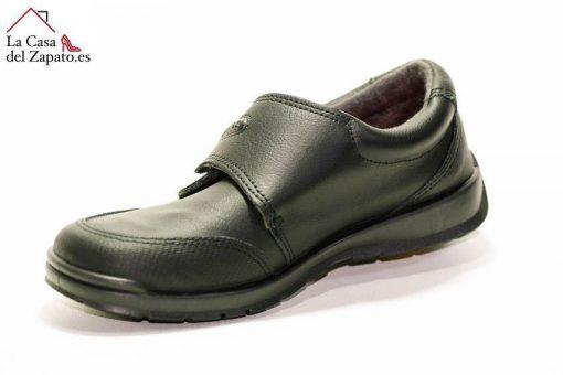 TITANITOS C840 Zeus Zapato Colegial de niño de color Negro