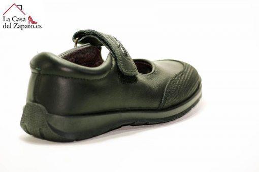 TITANITOS C840 Atenea Zapato Colegial de niño de color Negro