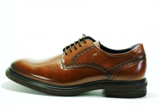 FLUCHOS F0630 Zapato de Hombre de Color Castaño