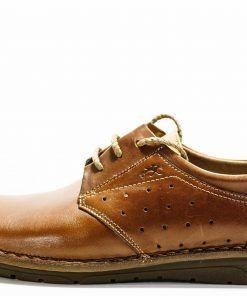 FLUCHOS F0454 Zapato de Hombre de Color Cuero