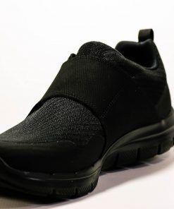 SKECHERS 52183 Deportiva para caminar de Hombre color negro