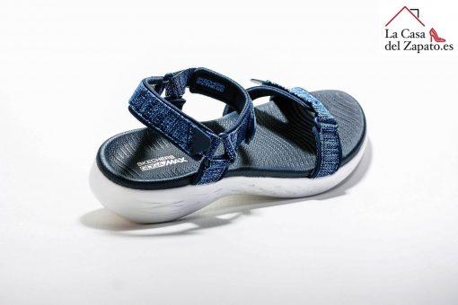 SKECHERS 15315 Deportiva para caminar de mujer color azul