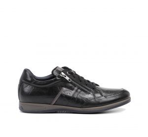 FLUCHOS F0210 Zapato de Hombre de Color Negro