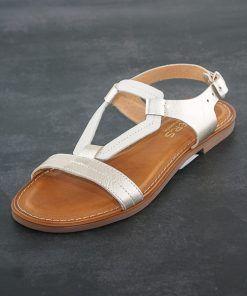 Sandalias Mujer de Piel Wikers
